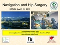 Navigation and hip surgery