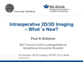 2D3D  Imaging - what´s new