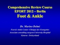Ankle arthrodesis, - arthroplasty, hallux valgus & flat foot