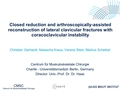 Closed reduction and arthroscopically-assisted reconstruction of lateral clavicular fractures with coracoclavicular instability