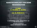 Nanotechnology for Bone regeneration - discussion