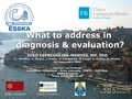 What to address in diagnose and evaluation