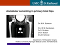 Acetabular cementing in primary total hip replacement