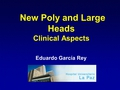 New poly and large heads: Clinical aspects