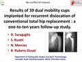 Results of 39 dual mobility cups implanted for recurrent dislocation of conventional total hip replacement: A one-to-ten years follow-up study