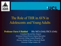 The role of THR in AVN in Adolescents & Young Adults