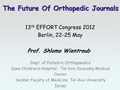 E-Journal Children's Orthopaedics