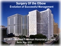 The elbow: Evolution of viable solutions