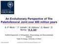 An evolutionary perspective of the patellofemoral joint over 400 million years