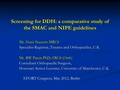 Screening for DDH: A comparative study of the SMAC and NIPE guidelines