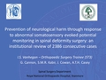 Prevention of neurological harm through response to abnormal somatosensory evoked potential (SSEP) monitoring in spinal deformity surgery: An institutional review of 2386 consecutive cases
