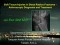 Soft tissue injuries in distal radius fracture - arthroscopic diagnosis and treatment