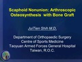 Scaphoid non-union: Arthroscopic reduction with bone graft