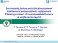 Survivorship, failure and clinical outcome of total femoral endoprosthetic replacement following excision of musculoskeletal tumours - a single center report