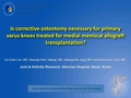 Is correctional osteotomy necessary for primary varus knees treated for medial meniscal allograft transplantation?