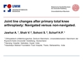 Joint line changes after primary total knee arthroplasty: Navigated versus non-navigated