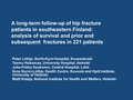 A long-term follow up of hip fracture patients in southeastern Finland. Analysis of survival and prior or subsequent fractures in 221 patients