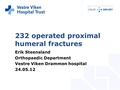 Change in surgical methods has resulted in a trend of lower risk for reoperation among proximal humeral fractures operated in the period 1999-2004 compared with 2005-2010