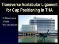 The use of the transverse acetabular ligament for cup positioning. A randomised controlled trial
