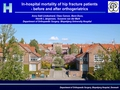 In-hospital mortality following hip fracture- before and after orthogeriatrics