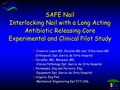 Use of a Interlocking nail with a long acting antibiotic releasing core in patients with high infection risk. Prospective study in 27 cases