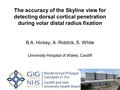 The accuracy of the skyline distal radius view for detecting dorsal cortical penetration during volar distal radius fixation