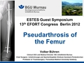 Pseudarthrosis of the femur