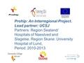 PROHIP - Development of an E-Health concept due to hip surgery