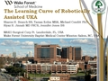 The learning curve of robotically assisted UKA