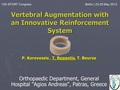 Vertebral augmentation with an innovative reinforcement system