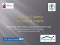 NHS Litigation In Foot And Ankle