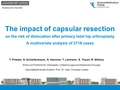 The Impact Of Capsular Resection On The Risk Of Dislocation After Primary Total Hip Arthroplasty: A Multivariate Analysis Of 2718 Cases.