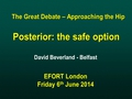 Posterior: The Safe Option