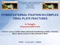Hybrid External Fixation In Treatment Of Complex Tibial Plate Fractures