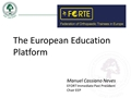 The European Education Platform