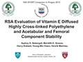 5-Year RSA Evaluation Of Vitamin E Infused Polyethylene Wear And Stability Of Acetabular And Femoral Components