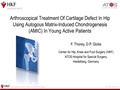 Arthroscopical Treatment Of Cartilage Defect In Hip Using Autogous Matrix-Induced Chondrogenesis (AMIC) In Young Active Patients