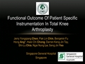 Functional Outcome Of Patient-Specific Instrumentation In Total Knee Arthroplasty