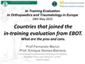 Countries That Joined The Intraining Evaluation From EBOT. What Are The Pros And Cons?
