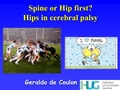 Treatment Of Hip In Severe CP