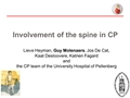 Involvement Of The Spine In Severe CP