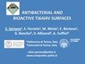 Antibacterial And Bioactive Ti6Al4V Surfaces