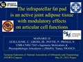 The Infrapatellar Fat Pad Is An Active Joint Adipose Tissue With Modulatory Effects On Articular Cell Functions