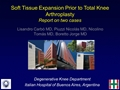 Soft-Tissue Expansion Prior To Total Knee Arthroplasty. A Report Of Two Cases