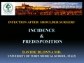 Infections In Shoulder And Elbow Surgery - Incidence And Predisposition
