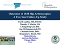 Outcomes Of 1038 Hip Arthroscopies: A 2-Year Follow-Up Study