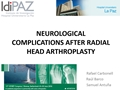 Neurological Complications Associated With Implantation Of A Radial Head Arthroplasty