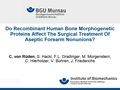 Do Recombinant Human Bone Morphogenetic Proteins Affect The Surgical Treatment Of Aseptic Forearm Non-Unions?