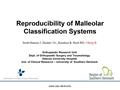 Reproducibility Of Malleolar Classification Systems