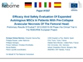 Efficacy And Safety Evaluation Of Expanded Autologous MSCs In Patients With Pre-Collapse Avascular Necrosis Of The Femoral Head: Preliminary Results Of EudraCT 2012-002010-39 Phase I/IIa Clinical Trial In The REBORNE European Project